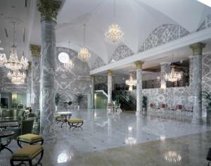 Shopping Center, Dubai, Qatar, Botticino, Black Marquina, Salomé, Red Levanto