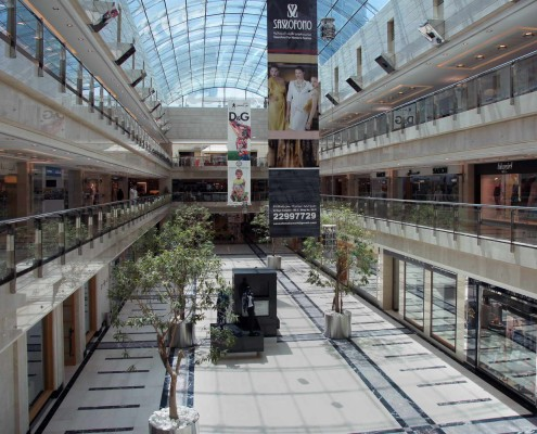 Shopping Center, Dubai, Qatar, Botticino, Nero Marquina, Salomé, Rosso Levanto
