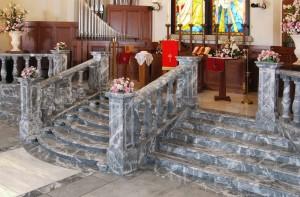 Chiesa - Istituto Religioso Marmo Moncervetto, Grigio Carnico, Onice