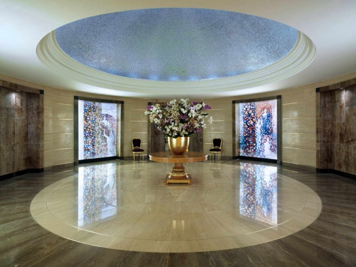 Hotel Tokyo, Japan, Floorings, Medallions, Wall Cladding, Backlit Floors