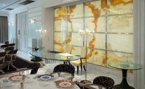 Yellow Onyx, sardinian grey granite, Flooring, Backlit Onyx Wall Cladding