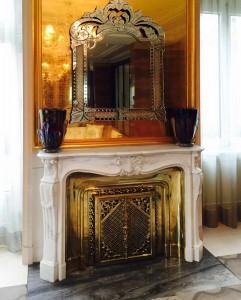 Hotel Peninsula Palissandro, Nero Marquina, marmo Bianco Carrara - 3