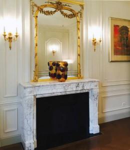 Hotel Peninsula Palissandro, Nero Marquina, marmo Bianco Carrara