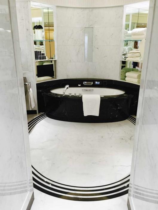 Hotel Peninsula Palissandro, Nero Marquina, marmo Bianco Carrara - 5