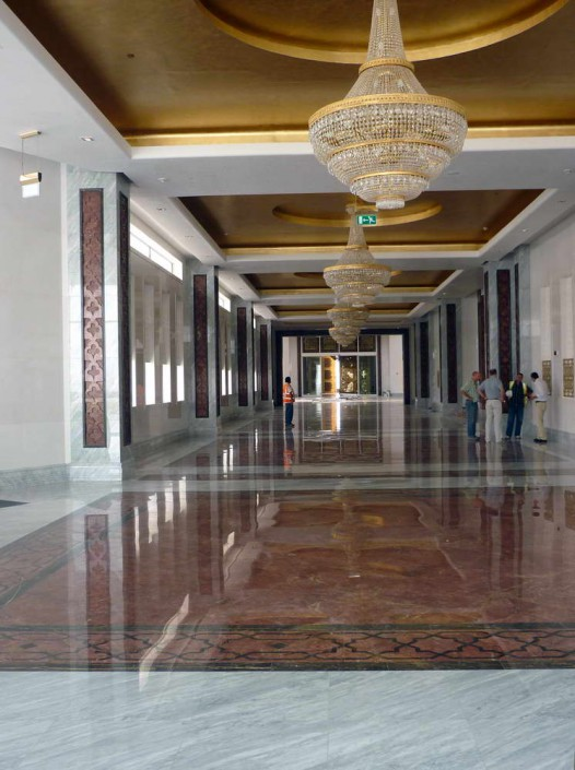 Presidential Area Airport - marble floors - 1