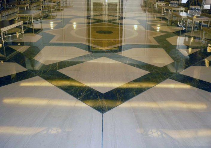 Presidential Area Airport - marble floors - 3
