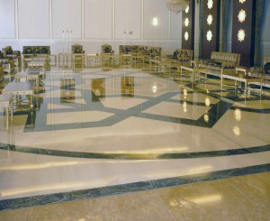 Presidential Area Airport - marble floors - 4