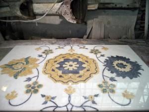 Fiore in Marmo - Intarsio Marmi - 4