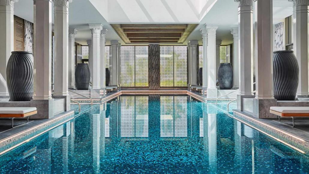 Four Seasons Hotel Manama Bahrain Marble Grigio Carnico