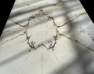 Bookmatched Marble