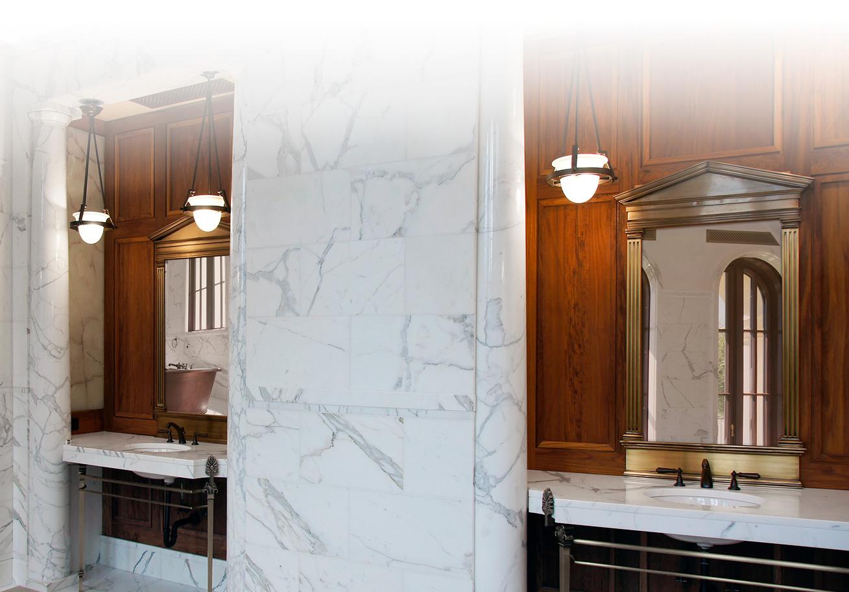 cornici specchi in marmo