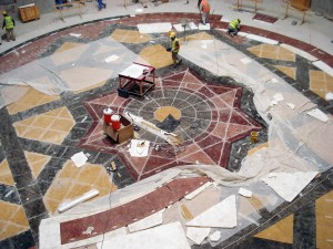 Installation - Marble Floor