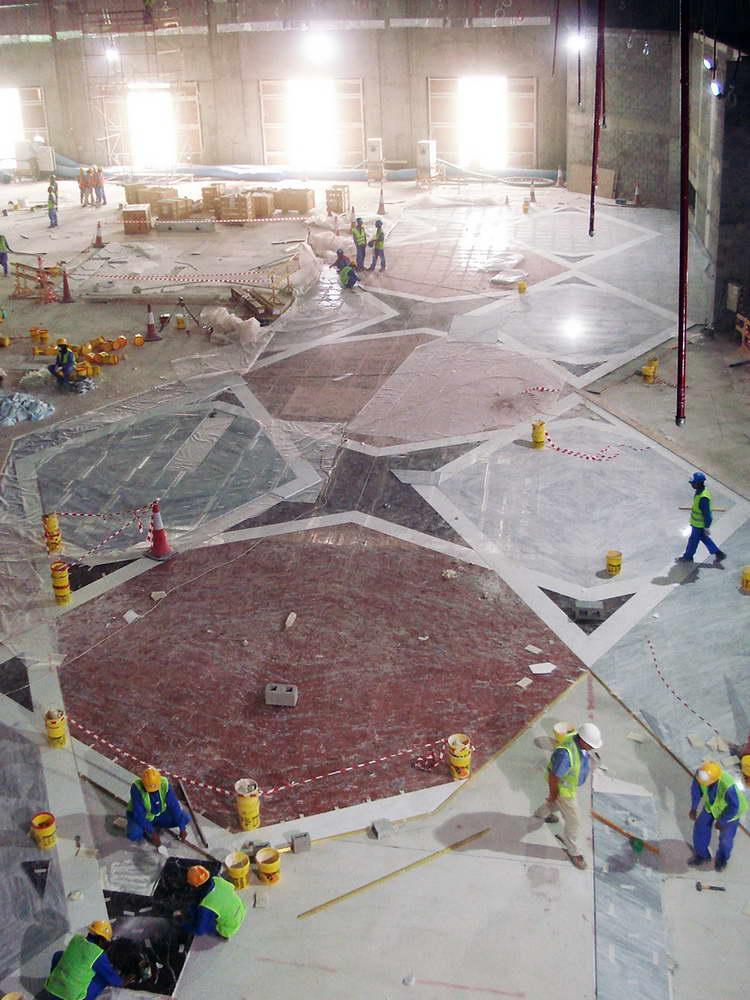 posa in opera pavimento in marmo 3