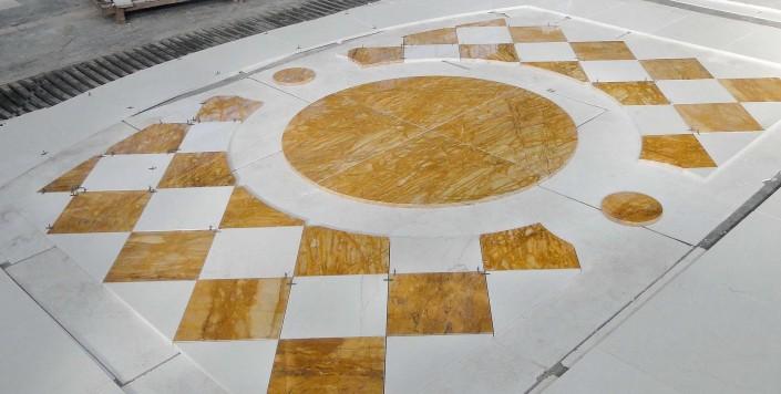 versace - pavimento in marmo