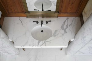 Marble Statuario, Travertine Walnut, Levanto Red, Green Alps, Port Laurent