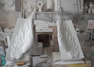 Ali in Marmo di Carrara 012