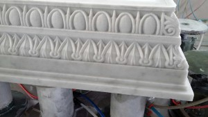 Capitelli in Marmo di Carrara 003